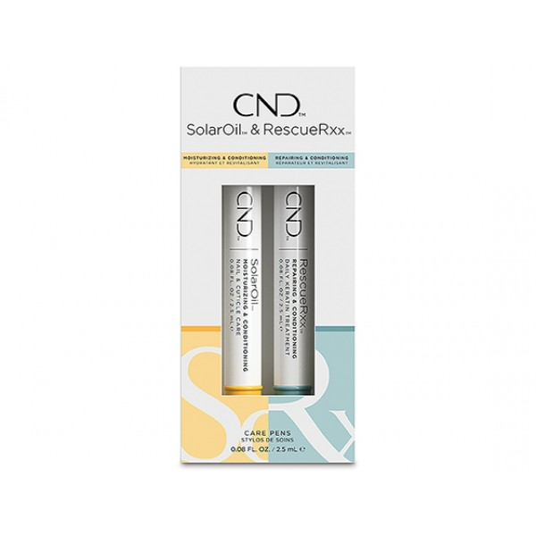 CND Essentials care pen 2.66ml, duo pack - Solar O...