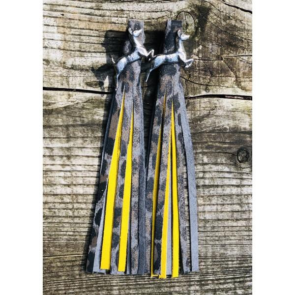 Tassel Envy Colour Panels - Yellow Suede