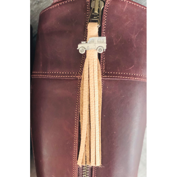 Tassel Envy Tassels - Nude Leather
