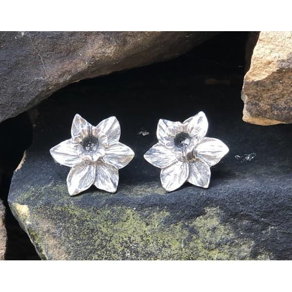 Flower Tassel Envy Studs