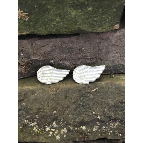 Angel Wings Tassel Envy Studs