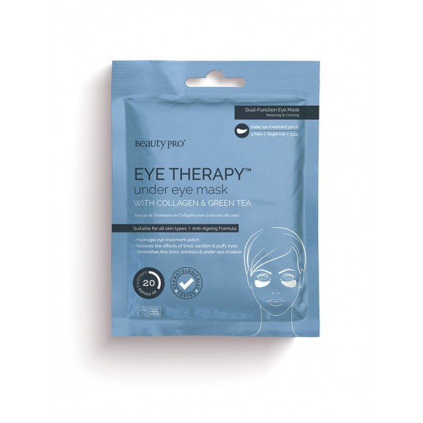 EYE THERAPY Under Eye Mask with Collagen and Green...