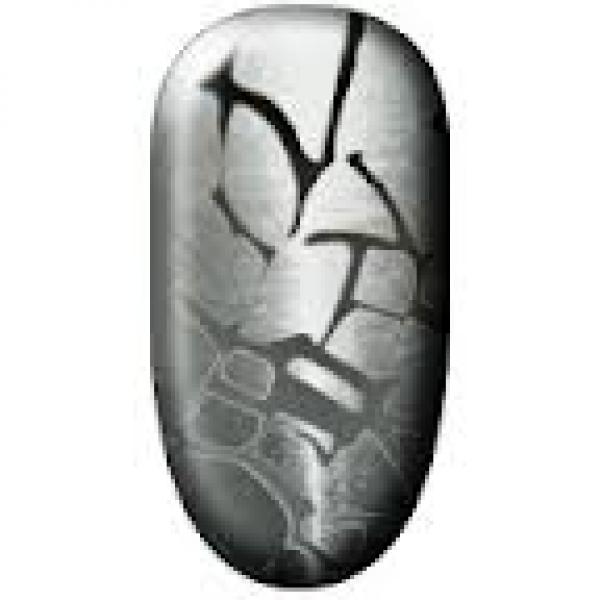Ninxae Nail Wraps - Silver Crazy Pave