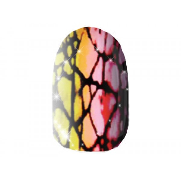 Coloured Crackle